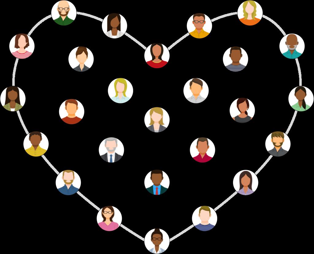 Better Still Life, Career, Relationships people heart image
