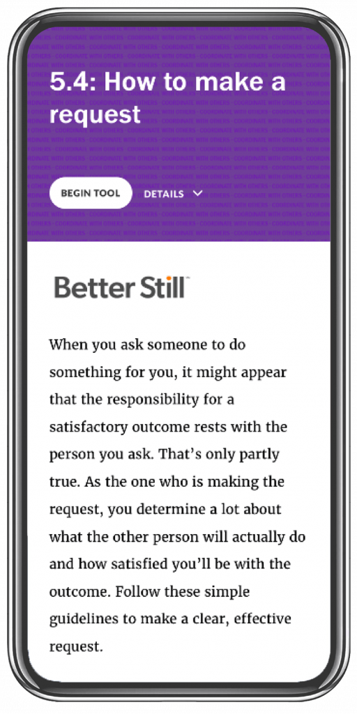 Better Still Tool 5.4 How to Make a Request image